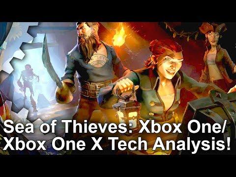 DF的《盗贼之海》Xbox One X和Xbox One对比